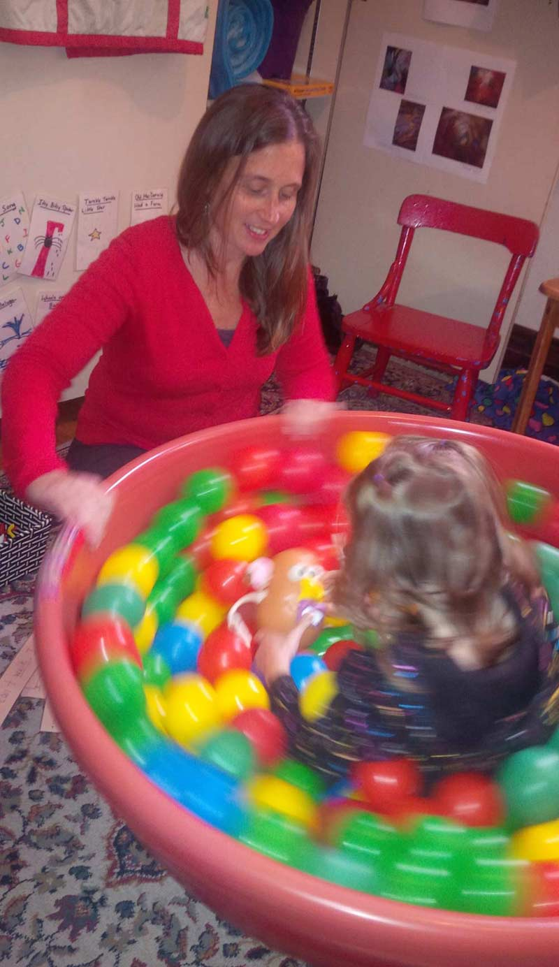 "Sensory Integration Therapy helps ""get the brain ready to learn"""